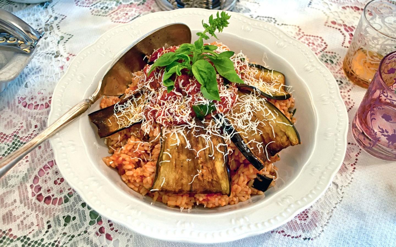 Riso all Norma, Sicilian cookery class in Catania