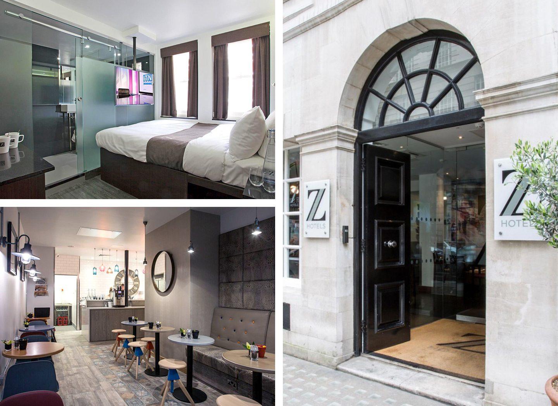 Z Hotels budget luxury hotels in London