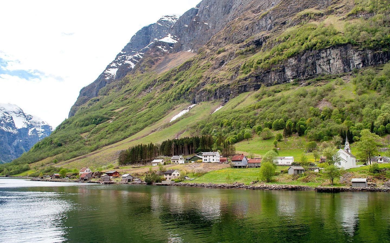 Bakka in the Norwegian fjords