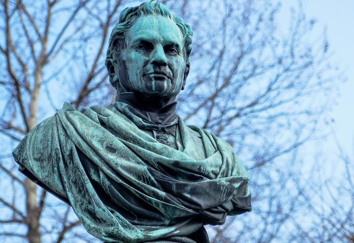 Statue in Vienna's Stadtpark
