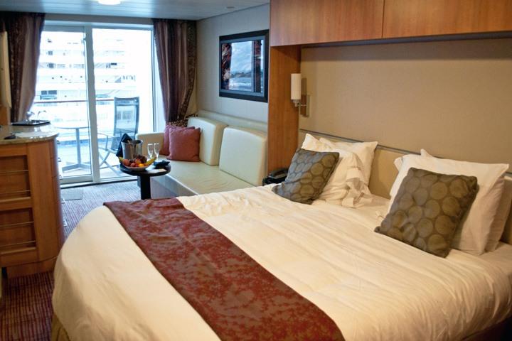 Stateroom on Celebrity Equinox cruise ship