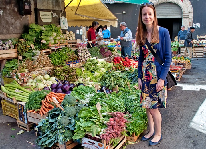 Catania food market, Sicily
