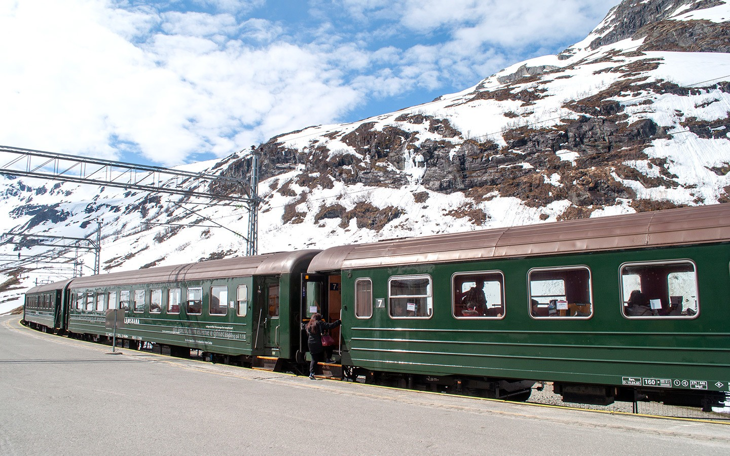 Europe by train: The Flamsbana scenic train in Norway