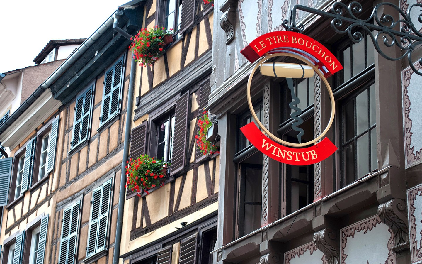 A Winstub in the Alsace, France