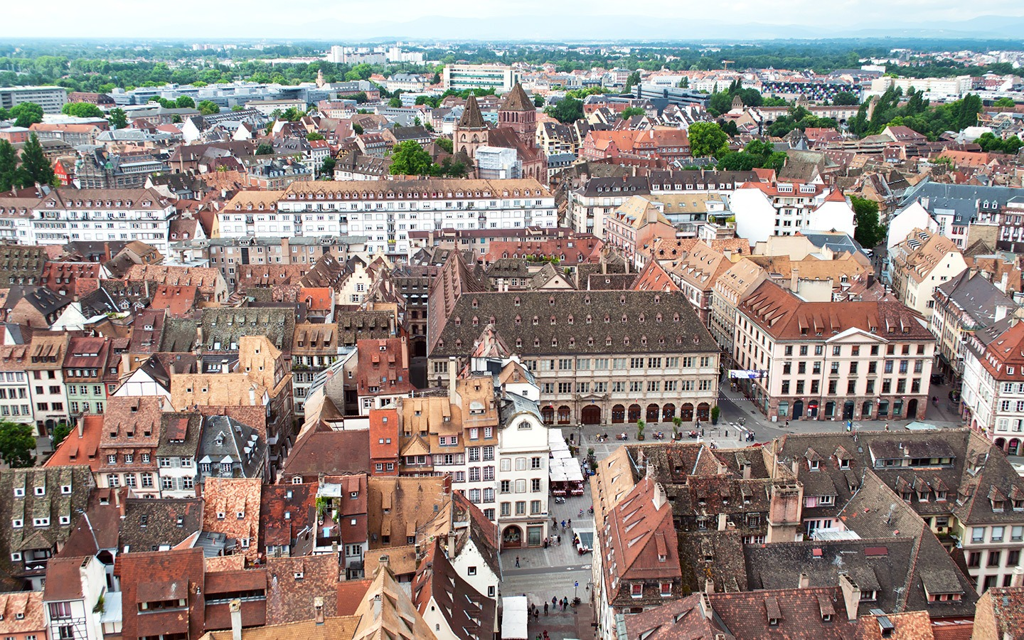 Views from Strasbourg cathedral