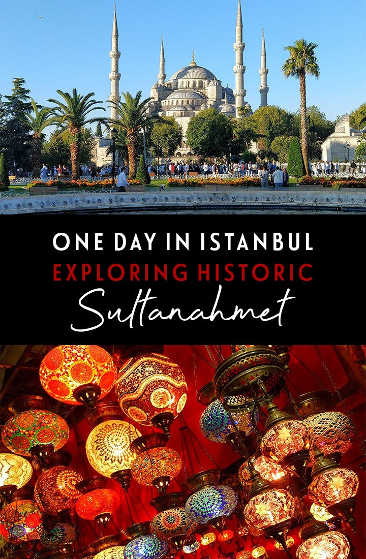 Exploring the best of Sultanahmet, the historic heart of Istanbul, in one day – including the Blue Mosque, Hagia Sophia, shopping in the Grand Bazaar and a boat trip on the Bosphorus #Istanbul #Turkey #Sultanahmet