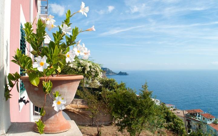 Praiano on the Amalfi Coast, Italy