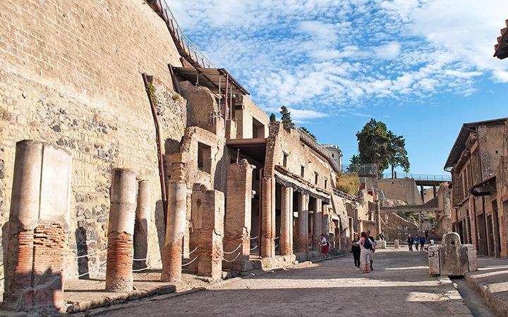 Herculaneum archaoelogical site