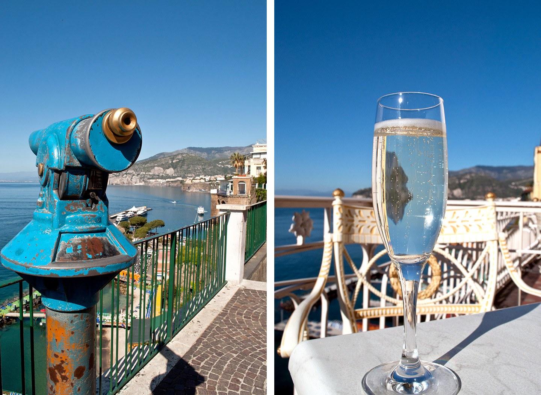 Views in Sorrento, Italy