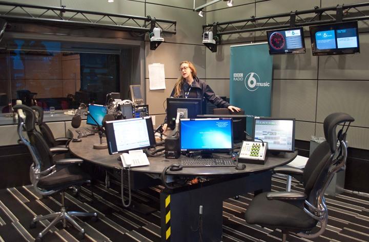 Radio 6 Music studios