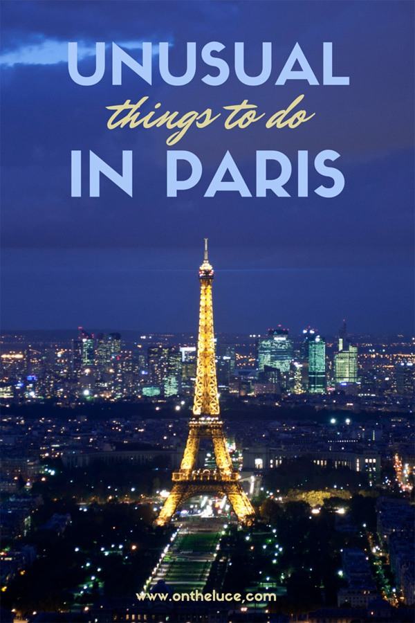 The best unusual and alternative things to see and do in Paris – when you've seen the Eiffel Tower, Louvre and Arc de Triomphe, here's what to do next. #Paris #France #alternative #quirky #quirkyparis