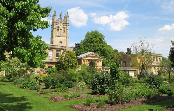 Oxford's Botanic Gardens