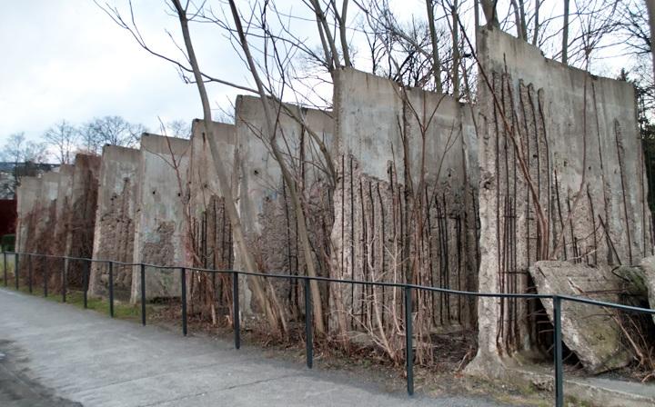 Berlin Wall Memorial at Bernauer Strasse