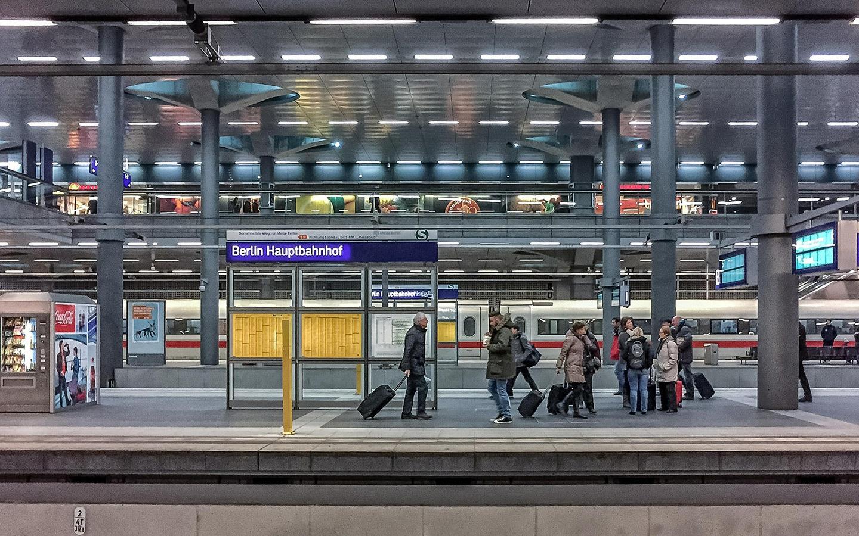 Berlin Hauptbahnhof main train station