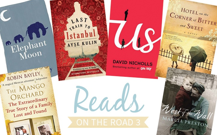 Reads on the Road 3 travel book recommendations