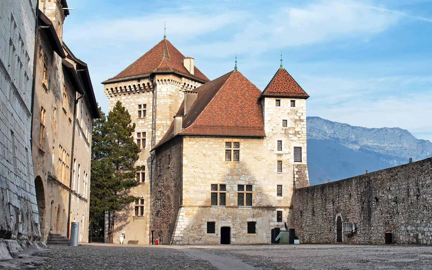 The Château d'Annecy, Annecy Castle in France