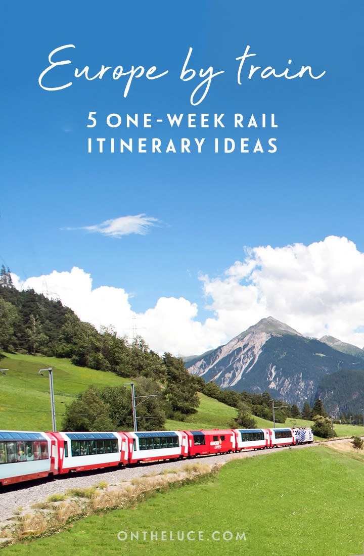 Europe by train: Five great one-week European rail trip routes, including Northern Europe, Italy, Eastern Europe, Spain and Portugal, and Scandinavia | Europe by train | Europe rail itineraries | InterRail itineraries | European train travel width=