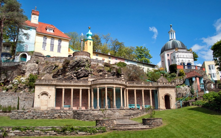 Portmeirion, where Wales meets Italy