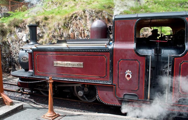 Ffestiniog Railway steam engine