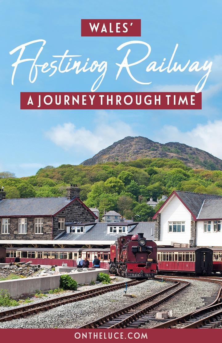 A train journey through time on the historic scenic Ffestiniog Railway in North Wales, travelling from Blenau Ffestiniog through Snowdonia's mountains to Porthmadog by the sea. #Wales #railway #Ffestiniog