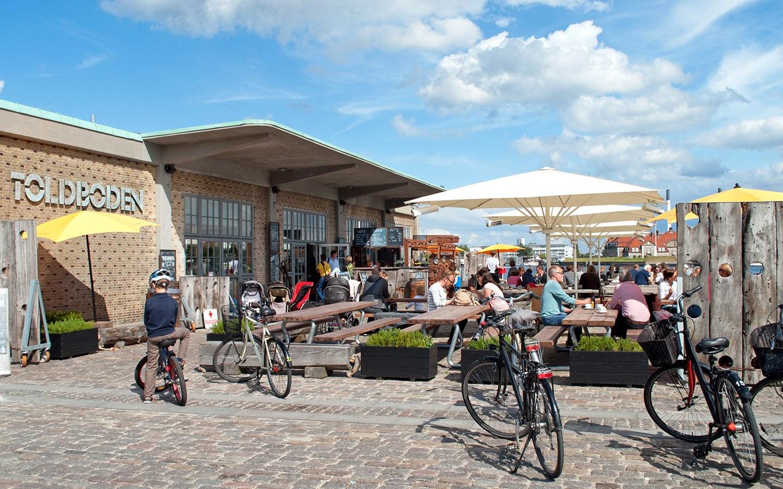 Toldboden waterfront bar in Copenhagen