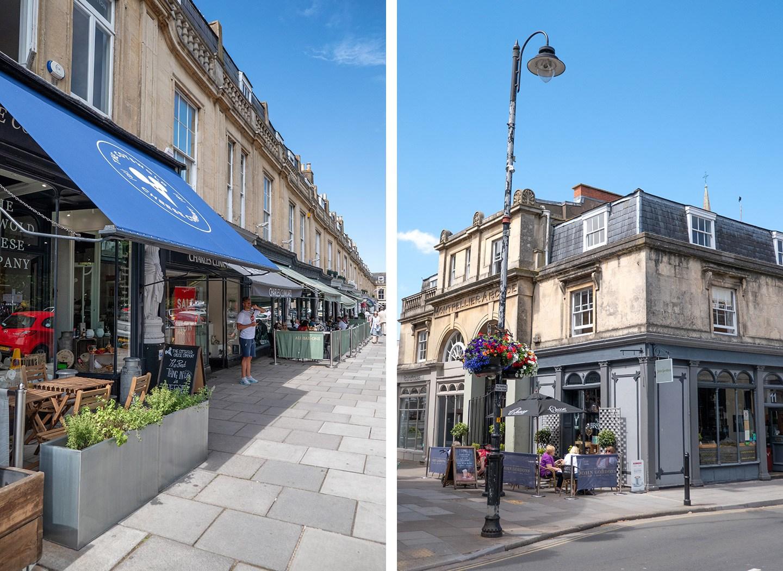 Shops in the Montpellier area of Cheltenham