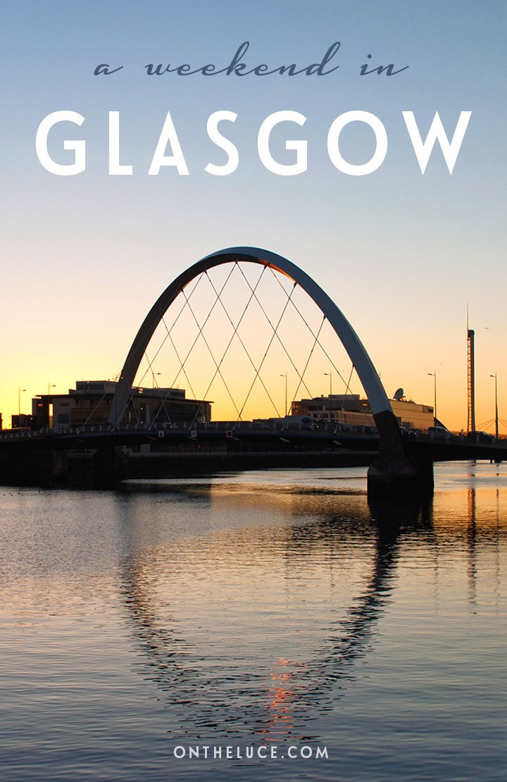 How to spend a weekend in Glasgow, Scotland, with tips on what to see, do, eat and drink on a 48-hour escape to this Scottish city. #Glasgow #Scotland #Britain #weekend #weekendbreak