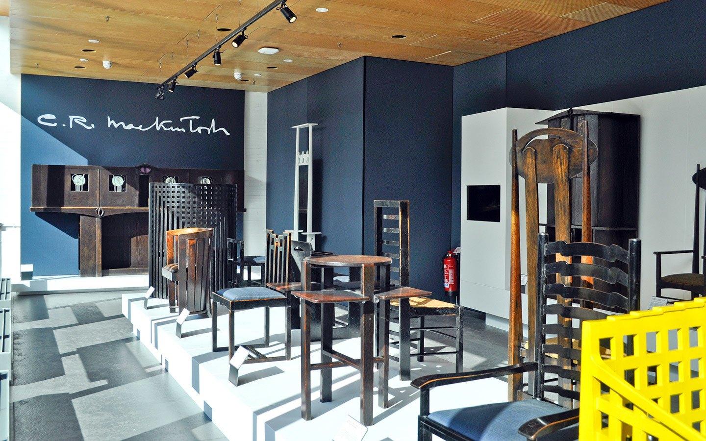 Rennie Mackintosh furniture in Glasgow