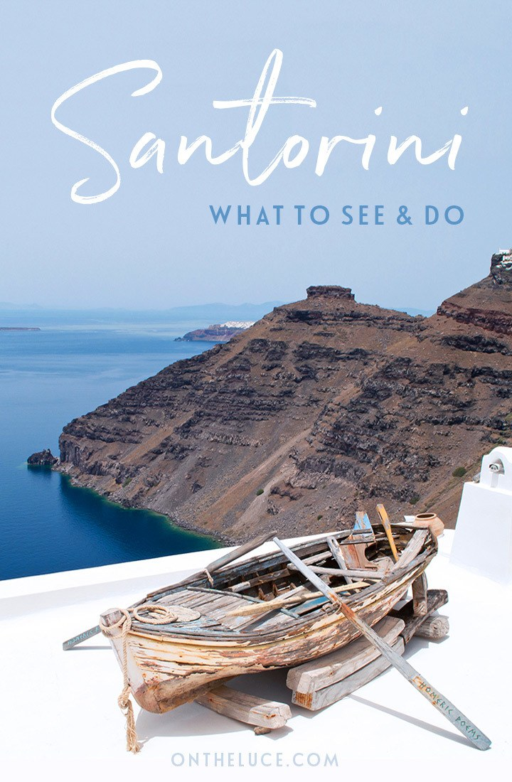 The top things to see and do in Fira, Santorini, a Greek island escape packed with domed churches, spectacular views, boat trips, sunsets and tasty food   Top things to do in Fira   Things to do in Santorini   Fira Santorini travel guide