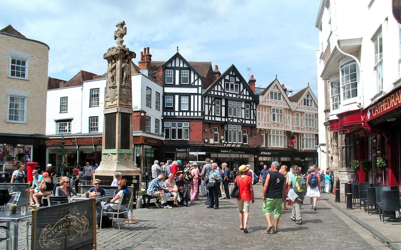 Canterbury city centre