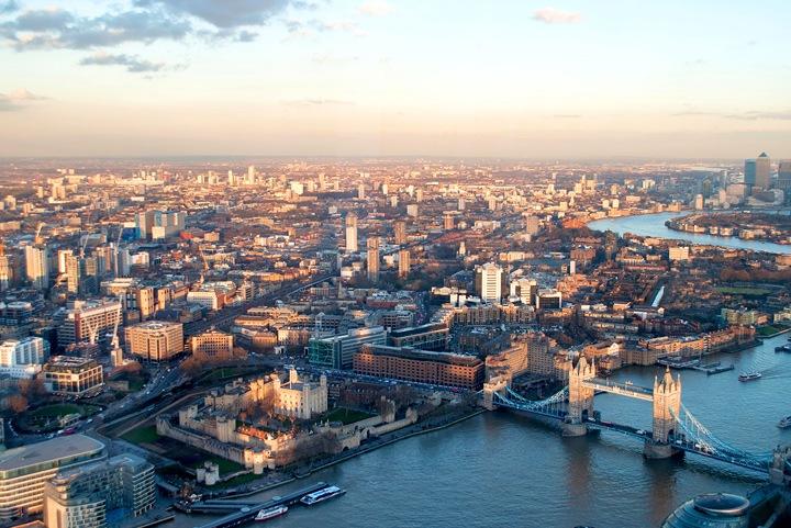 Dusk over Tower Bridge