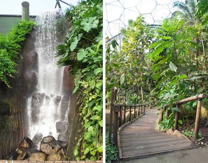 Eden Project rainforest biome