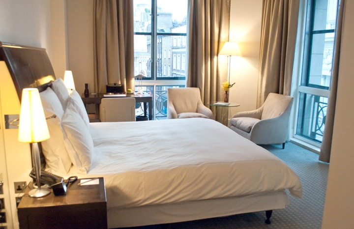 Deluxe room at the One Aldwych hotel London