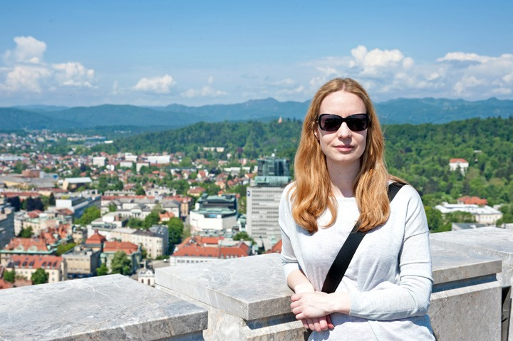 Ljubljana views from the castle