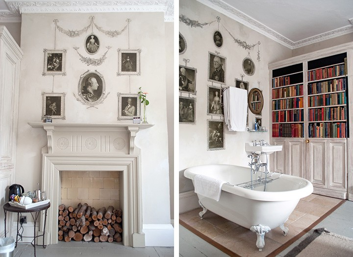 Crown room at the Old Rectory Hastings