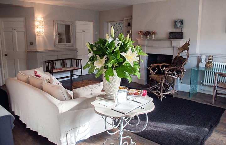 Lounge at the Old Rectory Hastings