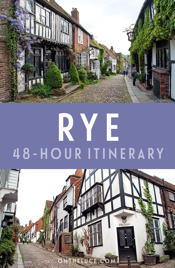 A guide to spending a weekend in Rye, East Sussex, with tips on what to see, do, eat and drink in this a 48-hour itinerary, including cobbled streets, castles, beaches and more   Things to do in Rye East Sussex   Rye weekend guide   Seaside weekends in the UK   What to do in Rye