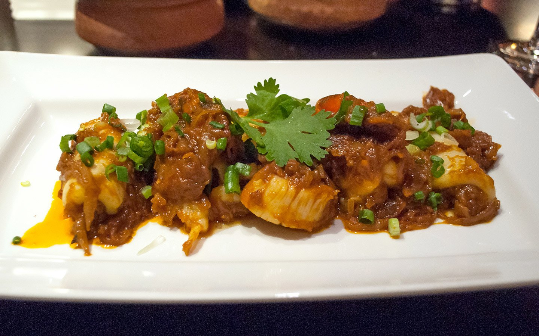 Dinner at Sindhu restaurant on P&O Britannia