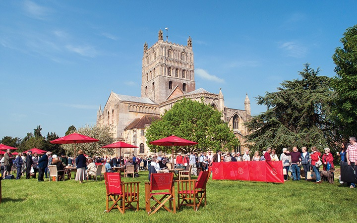 Antiques Roadshow at Tewkesbury Abbey