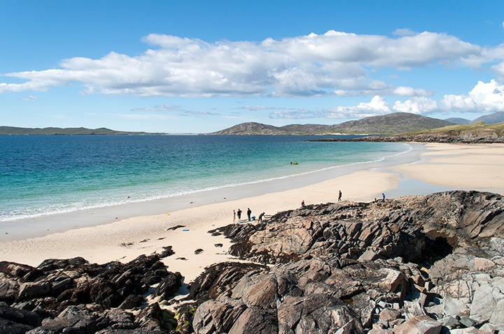 Borve Beach in the Outer Hebrides