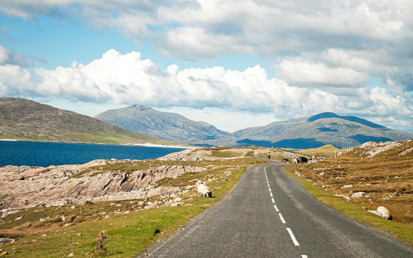 Roads on the Isles of Lewis and Harris