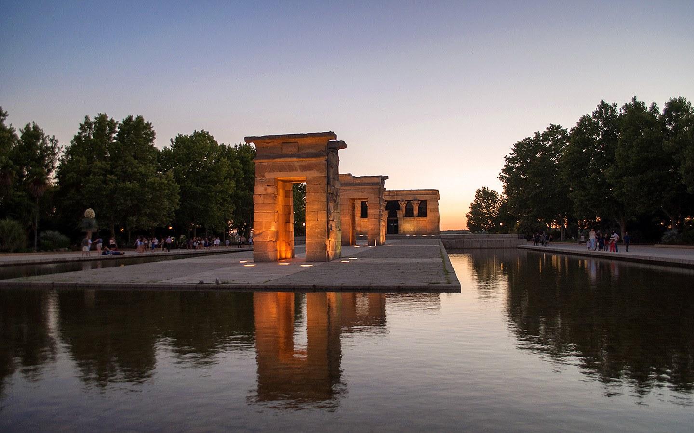 Temple of Debod in Madrid's Parque del Oeste