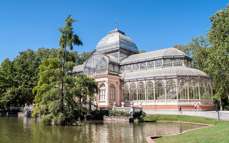 The Palacio de Cristal in Retiro Park