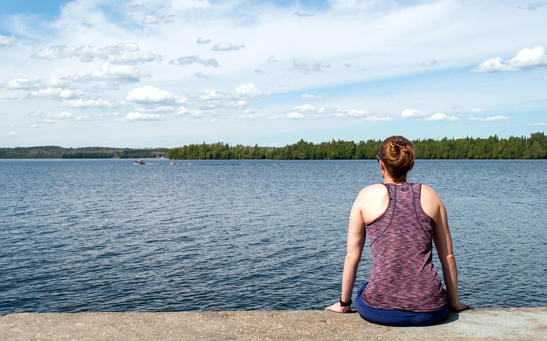 Aaron Provincial Park in Ontario, Canada