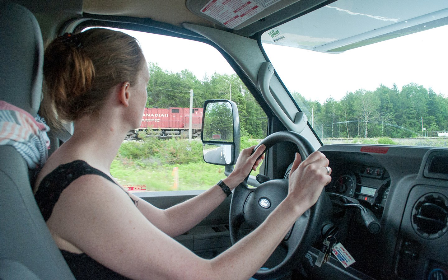 Driving across Canada by RV