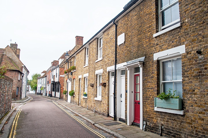 Streets in Sandwich