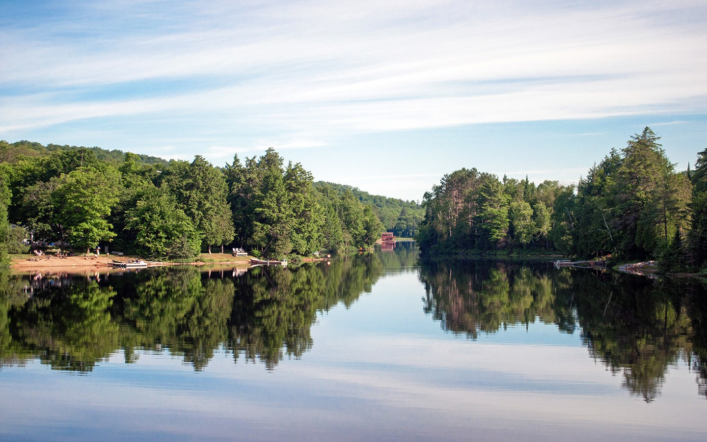 Gorgeous views in the Muskoka Lakes
