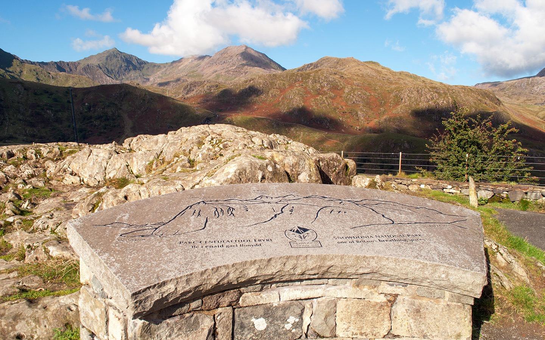 Views from Nant Gwynant in Snowdonia