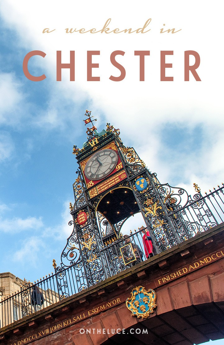 How to spend a weekend in Chester in north-west England, with tips on what to see, do, eat and drink on a 48-hour escape to this pretty historic city. #Chester #Cheshire #England #weekend