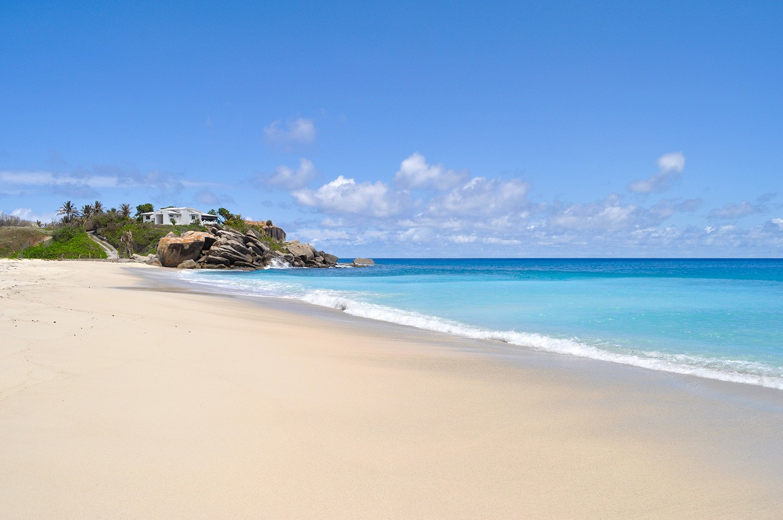 Anse Nord d'Est beach Mahé Seychelles